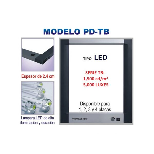 Negatoscopio LED PD-TB
